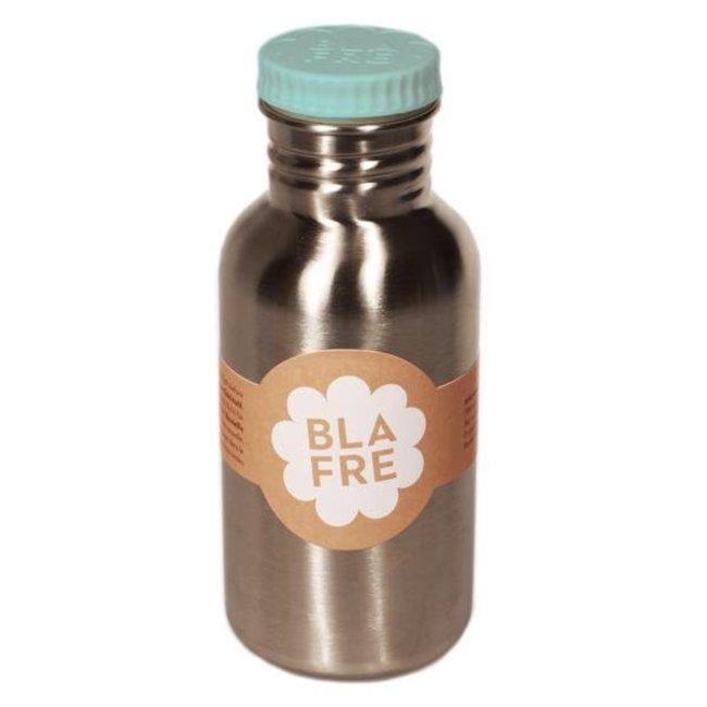 Blafre Coole stalen drinkfles 500ml zacht blauw   Blafre
