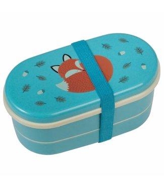 Rex Inter. Lunchbox bento vintage fox rusty