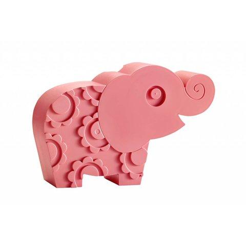 Brooddoos olifant roze | Blafre