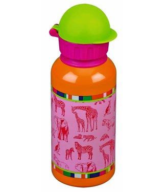 Spiegelburg Leuke drinkfles 0,4l roze dieren Kleine Vrienden