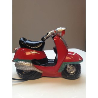 J-Line Leuke nachtlamp scooter rood 3D