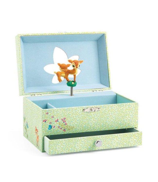 Djeco Muziek- en juwelendoos Bambi | Djeco