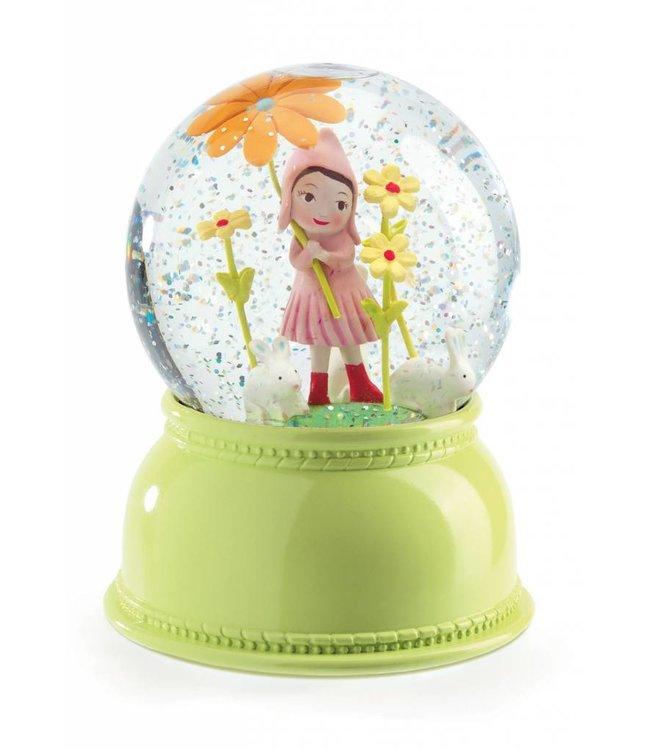 Djeco Nachtlampje en sneeuwbol 'meisje' | Djeco