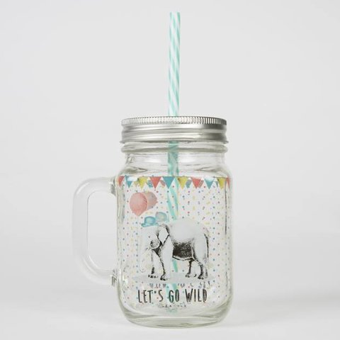 Drinkbeker Party Animals Olifant | Sass & Belle