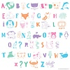 Letterset ABC Pastel voor lightbox | A little lovely company