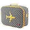 Koffer in canvas met vliegtuig Matahari | Bakker made with love