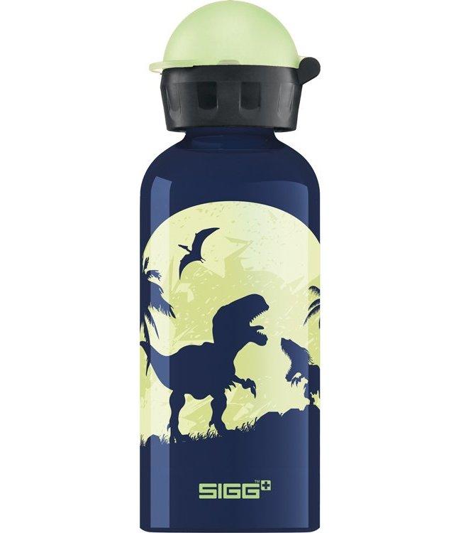 Sigg Drinkfles Glow moon dino's (glow in the dark) 0,4L | Sigg