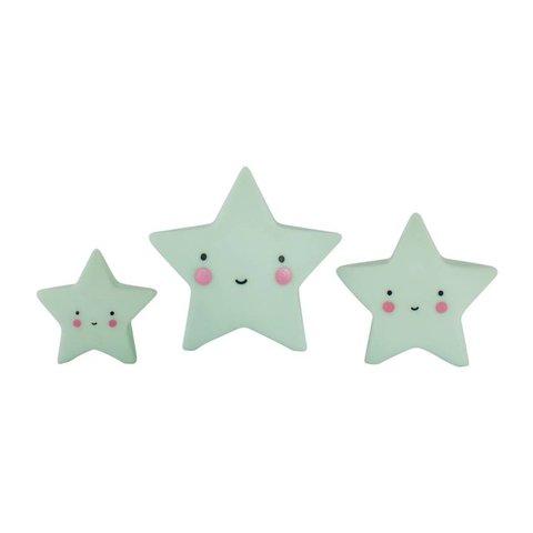 Mini sterretjes - Mint | A little lovely company