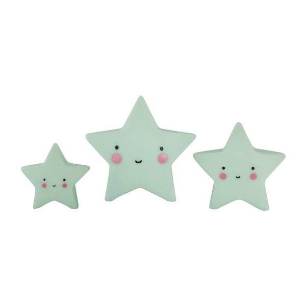 A Little Lovely Company Mini sterretjes - Mint | A little lovely company