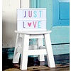 Letterset Pastel voor lightbox | A little lovely company