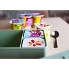 Toffe lunchbox HDPE blauw   Blafre