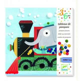 Djeco Knutseldoos All Aboard Pompons | Djeco