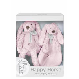 Happy Horse Giftbox Knuffels Konijn Richie Pink | Happy Horse