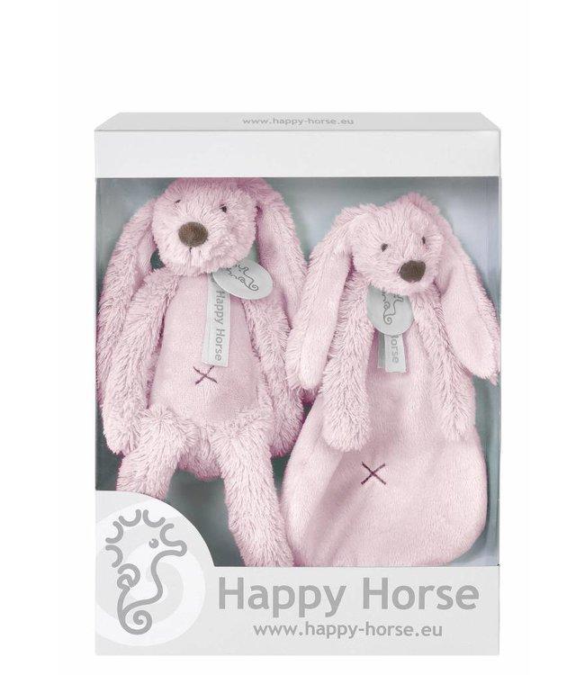 Happy Horse Giftbox Knuffels Konijn Richie Pink | Happy Horse