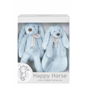Happy Horse Giftbox Knuffels Konijn Richie Blue | Happy Horse