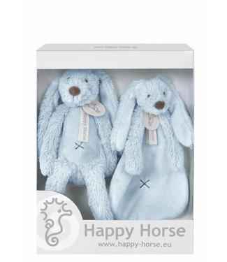 Happy Horse Giftbox Knuffels Konijn Richie Blue | Happy Horse
