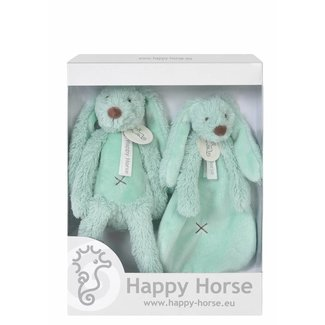 Happy Horse Giftbox Knuffels Konijn Richie Mint | Happy Horse