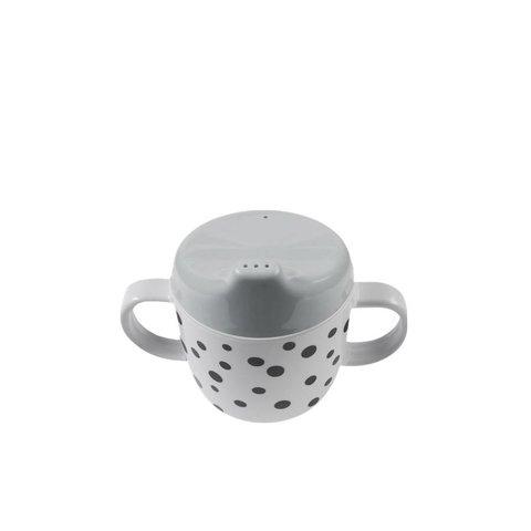 Drinkbeker Happy Dots Grey | Done by Deer