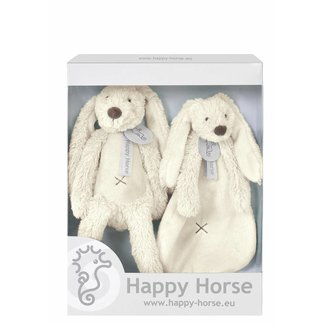 Happy Horse Giftbox Knuffels Konijn Richie Ivoor Wit | Happy Horse