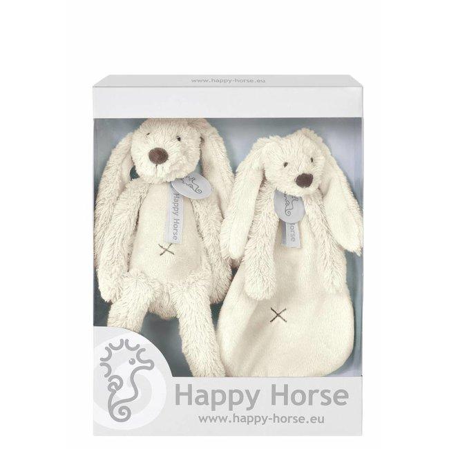 Happy Horse Giftbox Knuffels Konijn Richie Ivoor Wit | Happy Horse