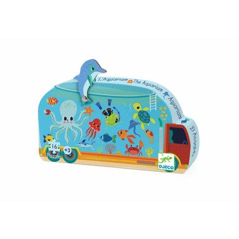Puzzel Het Aquarium   Djeco