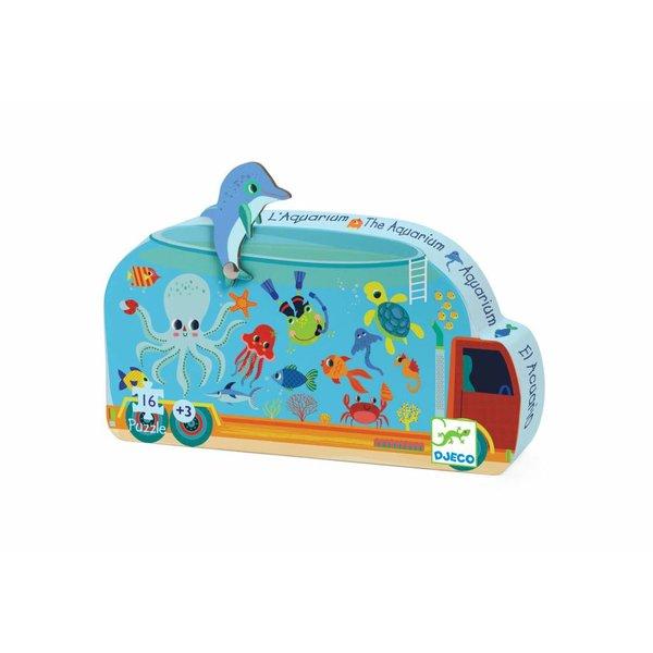 Djeco Puzzel Het Aquarium   Djeco