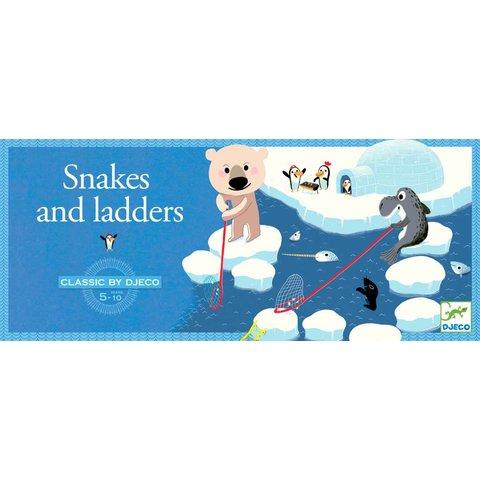 Gezelschapsspel Snakes and Ladders | Djeco