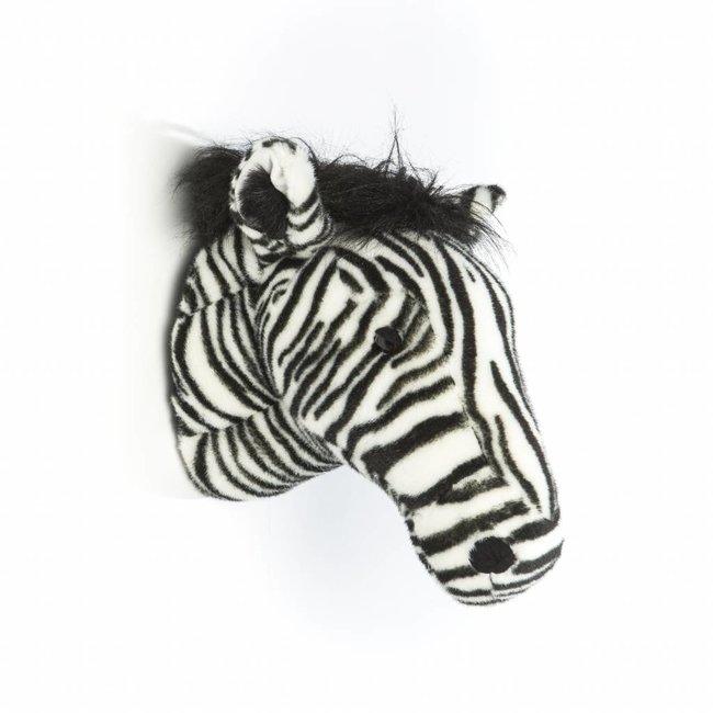 Wild & Soft Dierenkop Trophy Zebra Daniel | Wild & Soft