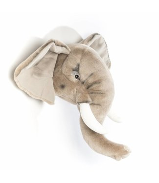 Wild & Soft Dierenkop Trophy Olifant George | Wild & Soft