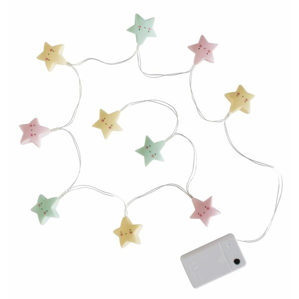 A Little Lovely Company String Lights Ster Pastel | A Little Lovely Company