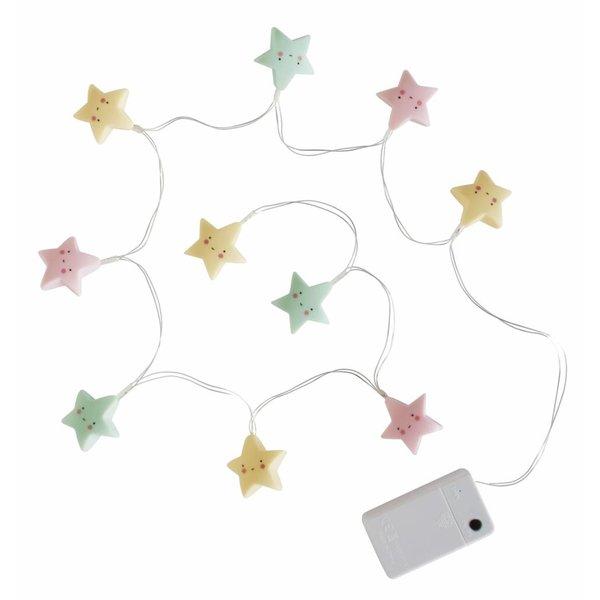 A Little Lovely Company String Lights Ster Pastel   A Little Lovely Company