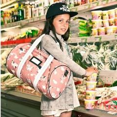 Ik ga op reis en ik neem mee: weekendbag, koffertje, portefeuille, toilettas,...