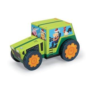 Crocodile Creek Puzzle & Play 24st Tractor   Crocodile Creek