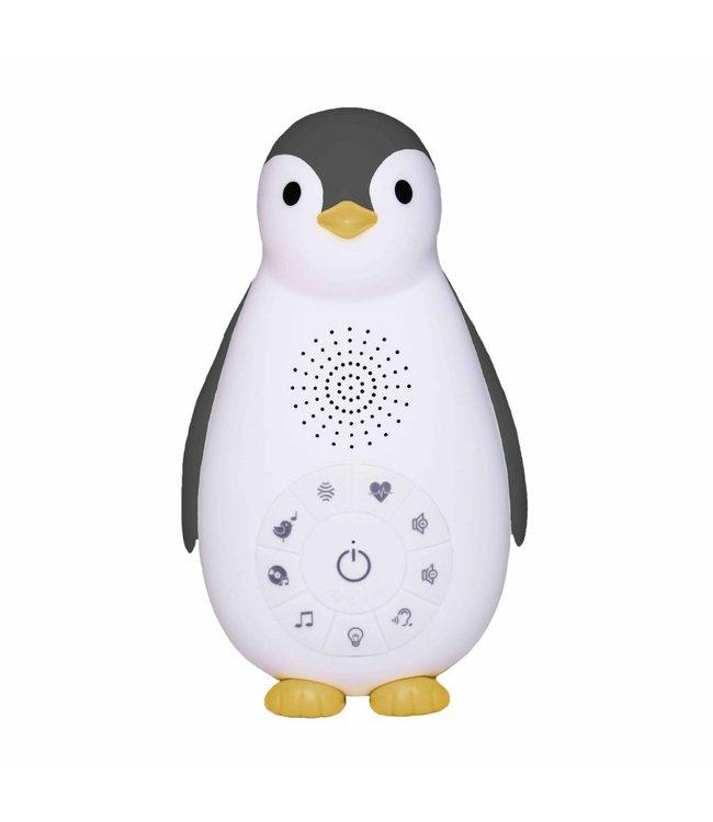 Zazu Bluetooth Muziek Box Pinguïn Zoë Grijs | Zazu