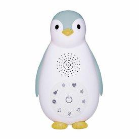Zazu Bluetooth Muziek Box Pinguïn Zoë Blauw | Zazu