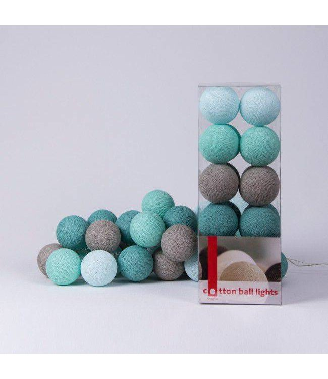 Cotton Ball Lights Lichtslinger Mint | Cotton Ball Lights