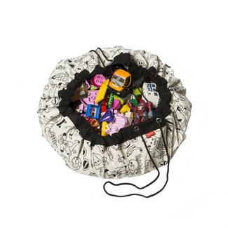 Play&Go Opbergzak en speelmat OMY Color My Bag | Play and Go