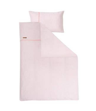 Little Dutch Dekbedovertrek ledikant - Peach Melange (100 x 135 cm) | Little Dutch