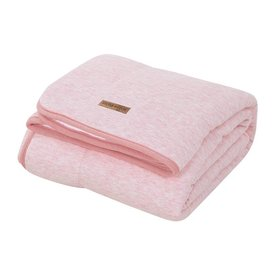 Little Dutch Dekentje ledikant Pure & Soft - Peach Melange (110 x 140) | Little Dutch