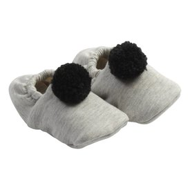 House of Jamie Babyschoentjes Pom Pom - Stone | House of Jamie