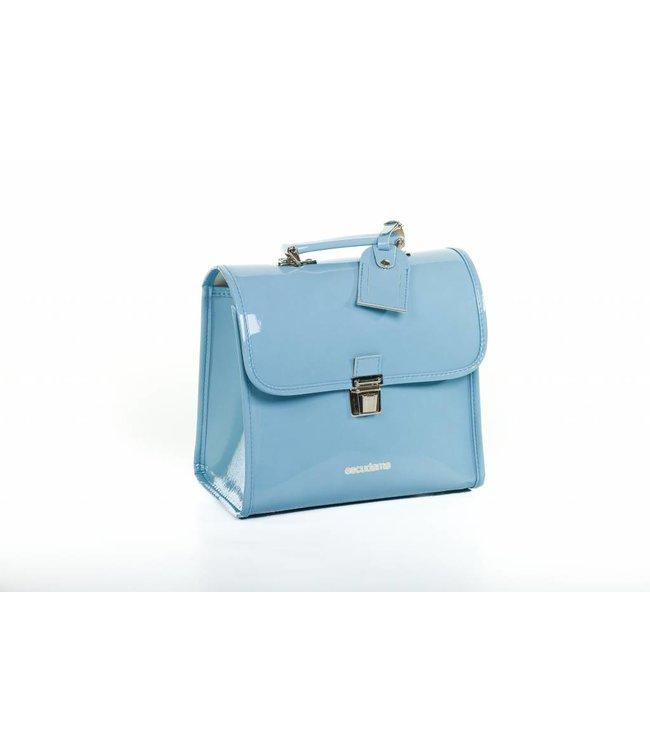 Escudama Laklederen kleuterboekentasje Azzurro | Escudama