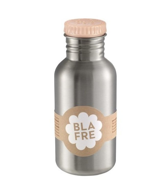 Blafre Stalen Drinkfles 500ml Peach | Blafre