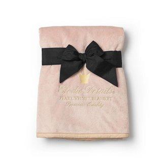 Elodie Details Dekentje Pearl Velvet Powder Pink | Elodie Details