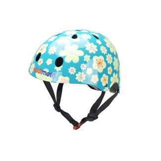 Kiddimoto Skate- & fietshelm Bloemen Fleur   Kiddimoto