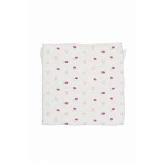Baby Bites Tetradoek - Hydrofiele Doek Pink Clouds | Baby Bites