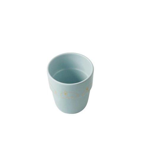 Drinkbeker Yummy Mug Contour - Goud Blauw | Done by Deer