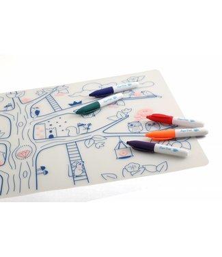 Super Petit Placemat met kleurtjes - Magic Tree   Super Petit