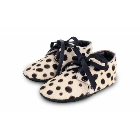 Babyschoentjes Safari EXCLUSIVE Dalmation  | Donsje