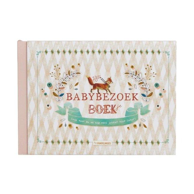 Pimpelmees Het Babybezoek Boek   Pimpelmees