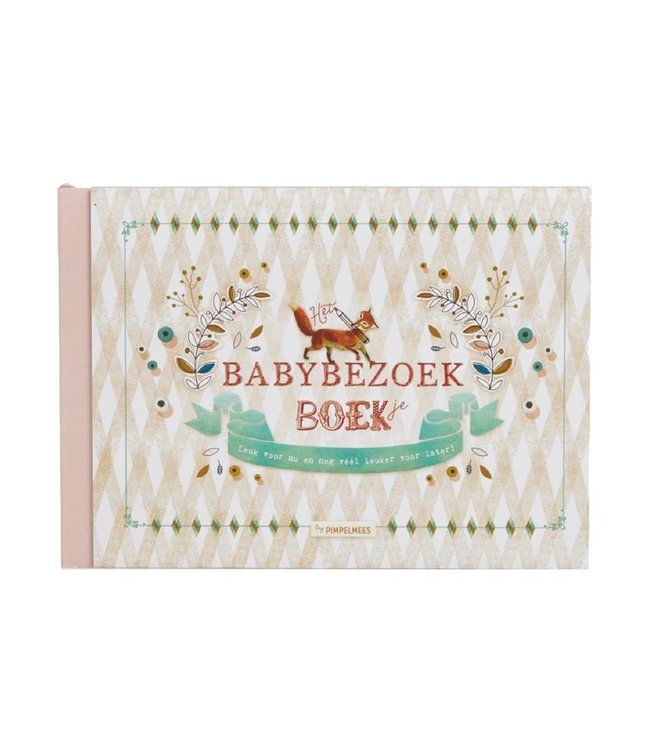 Pimpelmees Het Babybezoek Boek | Pimpelmees